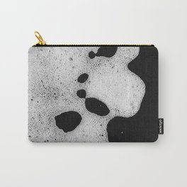 White mousse Carry-All Pouch