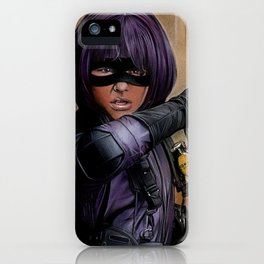 Hit Girl iPhone Case