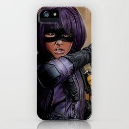Hit Girl iPhone Case