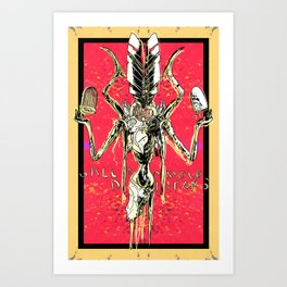 Slavery, Horror, Dreams, and Death Art Print