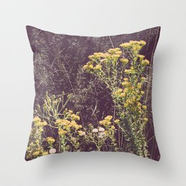 Bloomin' October Throw Pillow