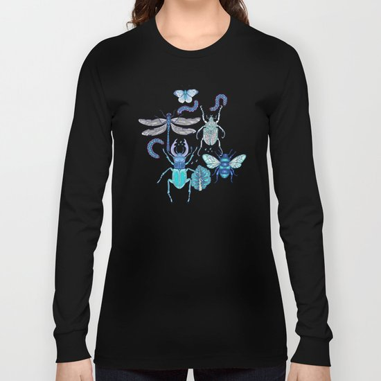 blue bugs Long Sleeve T-shirt