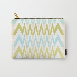 Pastel Chevron 4 Carry-All Pouch