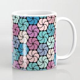Geometric flowers pattern Coffee Mug