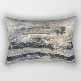 Deep Marble Rectangular Pillow
