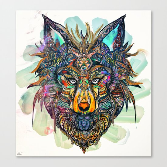 Aligning Hearts Canvas Print
