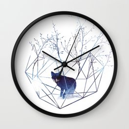Organic prison Wall Clock