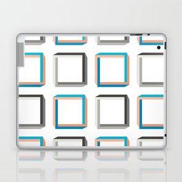 Impossible shapes alternating pattern. Laptop & iPad Skin