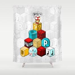 Q*BISM Shower Curtain