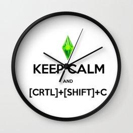 Sims Cheats Wall Clock