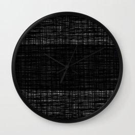 platno (center stripe) Wall Clock