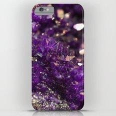Geode Abstract Amethyst Slim Case iPhone 6 Plus