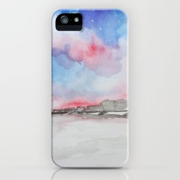 Topsail at Dusk iPhone Case