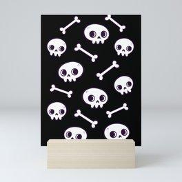 Cute Skulls Mini Art Print