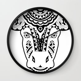 UTEY_The Cow (B&W) Wall Clock
