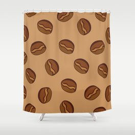 Pattern - Coffee Beans Shower Curtain