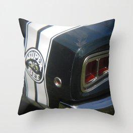 Superbee Throw Pillow