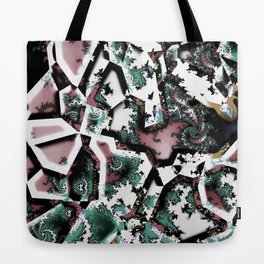 Fractal Collage Tote Bag