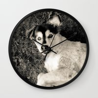 georgia Wall Clocks featuring Georgia by Sydney S Photography