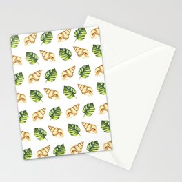 Tropical Summer Pattern Stationery Cards
