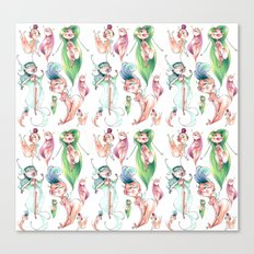 Pixie Pattern Canvas Print