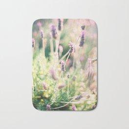 Lavender - Ibiza - Travel Photography Bath Mat