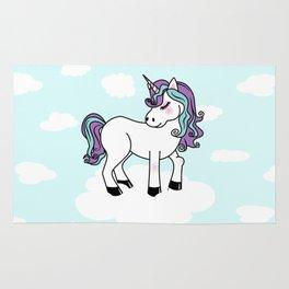 Kawaii unicorn Rug