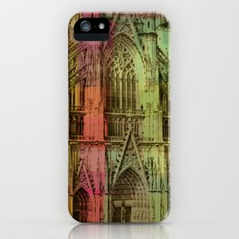 Lucite Cathedral iPhone Case