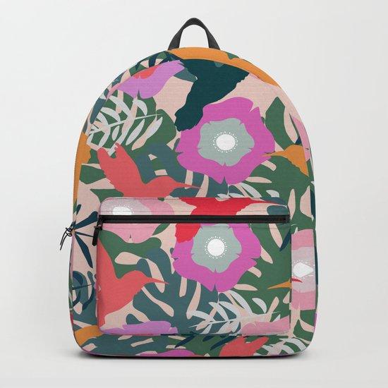 Happy hummingbirds Backpack