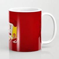 """mac Mugs featuring """"MAC"""" Donalds by Chris Dk"""