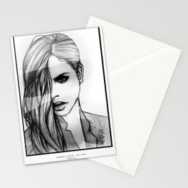 BARBARA PALVIN: THE FACE Stationery Cards