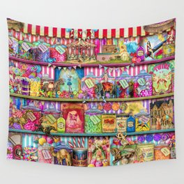 The Sweet Shoppe Wall Tapestry