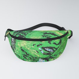 thug,so much fun,album art,cover,green,music,hiphop,rap,decor,wall art,gangsta,cool,dope,poster Fanny Pack