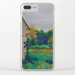 Beyond the Past Clear iPhone Case
