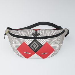The Queen of diamonds Fanny Pack
