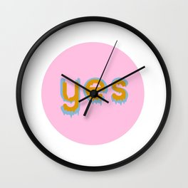 Yes 01 Wall Clock