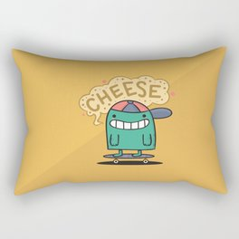 Cheese Guy Rectangular Pillow