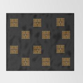 GOLD EIFFEL WEIMARANER 2 Throw Blanket