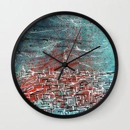 View of Paris Wall Clock