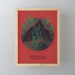 Mountain of Madness Framed Mini Art Print