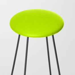Bright green lime neon color Counter Stool
