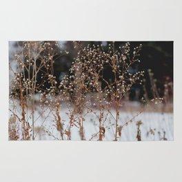 winter flower Rug