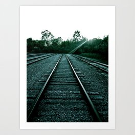 In Due Time Art Print