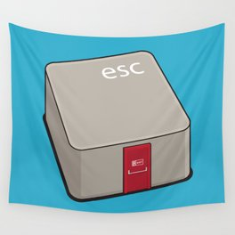 Escape Key Wall Tapestry