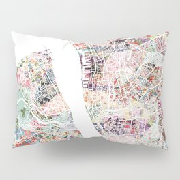 Liverpool map Pillow Sham