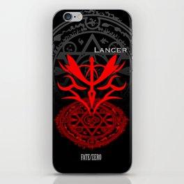 Fate/Zero Lancer iPhone Skin