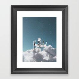 Volley Framed Art Print