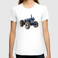 ford T-shirts featuring Ford 2810  by Rob Hawkins Photography