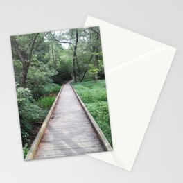 Wooden Pathway Stationery Cards