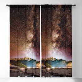 Milky Way Grainy Detail // Amazing Shot of the Galaxy in Colorado Long Exposure Star Gazing Photo Blackout Curtain